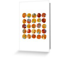 Pies Are Squared Greeting Card