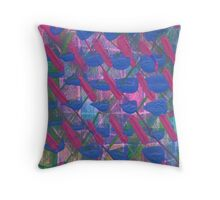 Ruffled feahers. Throw Pillow