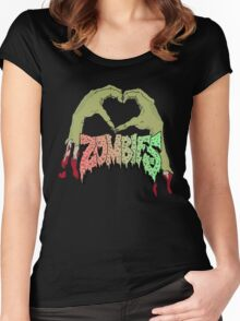 I love Flatbush Zombies Women's Fitted Scoop T-Shirt