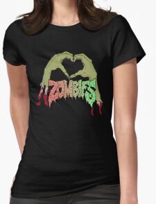 I love Flatbush Zombies Womens Fitted T-Shirt
