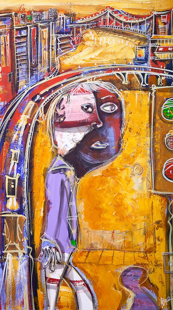 Mr metro by Adam Bogusz