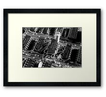 Old Chips Framed Print