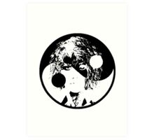 Yin and Yang - Kimbra Art Print