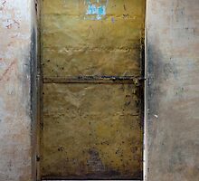 Yellow Mystery Door by phil decocco