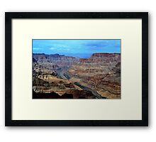 Grand Canyon West Rim, Arizona, USA. Framed Print