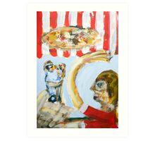 The italian affair Art Print