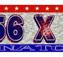 5.56 X 45  NATO Sticker