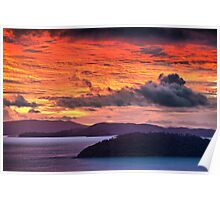 Whitsunday Islands Poster