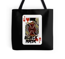 Black mask. Tote Bag