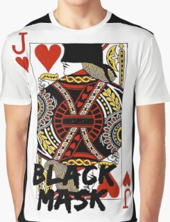 Black mask. Graphic T-Shirt