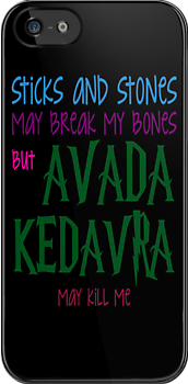 Avada Kedavra may kill me by nicwise