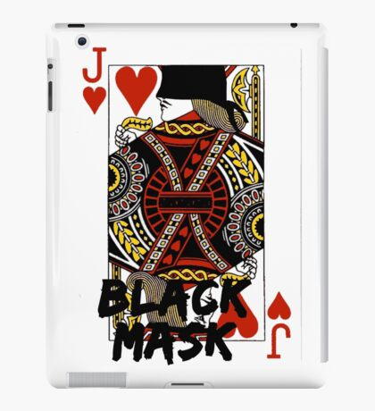 Black mask. iPad Case/Skin