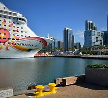 MS Norwegian Sun at Port of San Diego by seeyoutoo