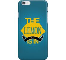 The Lemon Is In Play (Iphone) iPhone Case/Skin