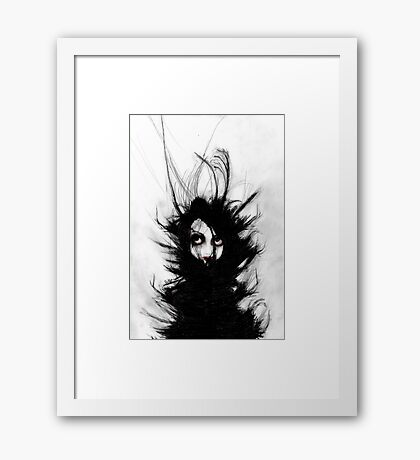 Coiling and Wrestling. Dreaming of You Framed Print