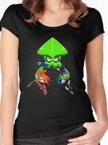 Splatoon Trio Women's Fitted Scoop T-Shirt