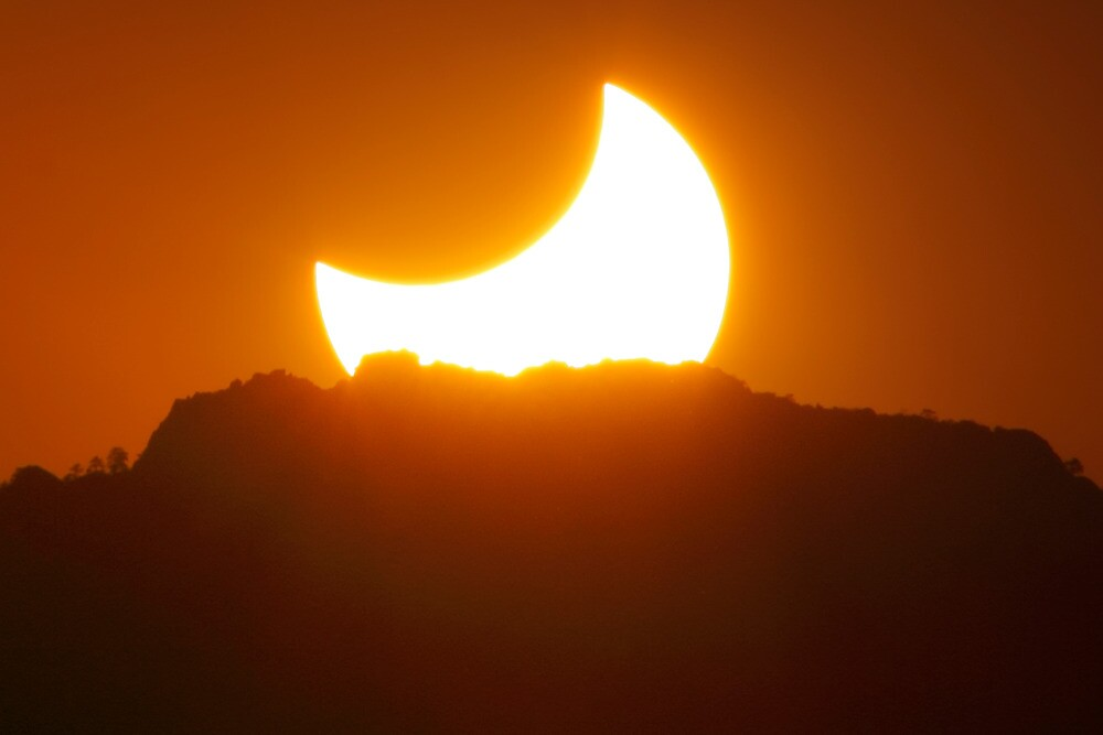 Cresent Sun by Bob Larson