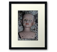 doll and ash Framed Print