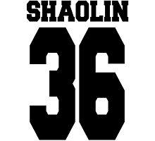 Shaolin 36 Photographic Print