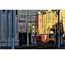 San Diego Trolley Series Downtown Photographic Print