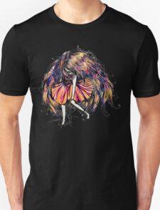 Faceless Girl is floating T-Shirt