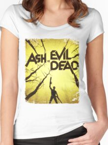 Ash vs Evil Dead Women's Fitted Scoop T-Shirt