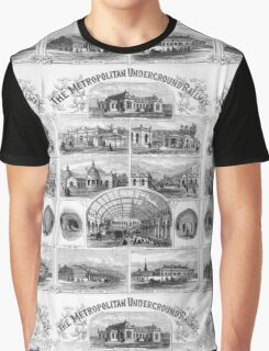Vintage Antique Engraving Graphic T-Shirt