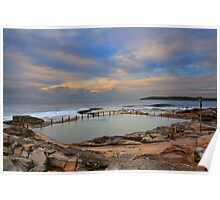 Mahon Pool at Sunrise Poster