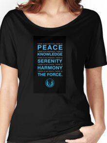 Jedi Code Women's Relaxed Fit T-Shirt