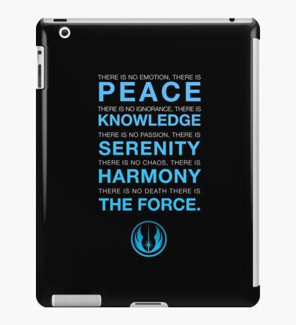 Jedi Code iPad Case/Skin
