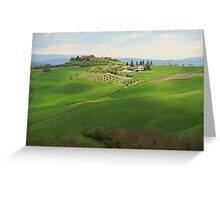Valdarbia - Toscana Greeting Card