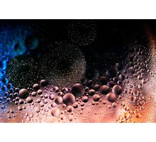 Bubblescapes - Oil in Water V Photographic Print
