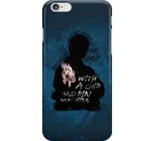 I Had A Row, With An Iphone iPhone Case/Skin