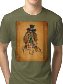 Who is the Mad Hatter ? Tri-blend T-Shirt