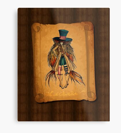 Who is the Mad Hatter ? Metal Print
