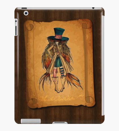 Who is the Mad Hatter ? iPad Case/Skin