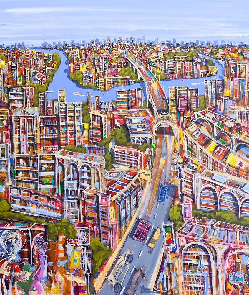 Urban awakening by Adam Bogusz