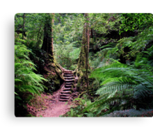 Welcome To My Forest Canvas Print