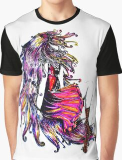 Faceless Girl & Red Doc Graphic T-Shirt