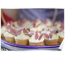 Butterfly Cup Cakes Poster
