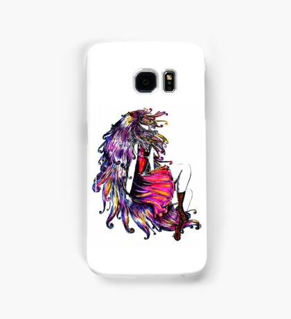 Faceless Girl & Red Doc Samsung Galaxy Case/Skin