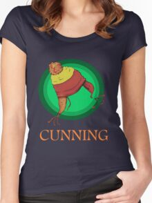 CUNNING! Women's Fitted Scoop T-Shirt