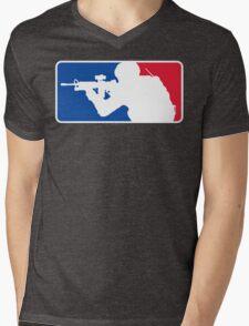 Major League Infantry Mens V-Neck T-Shirt