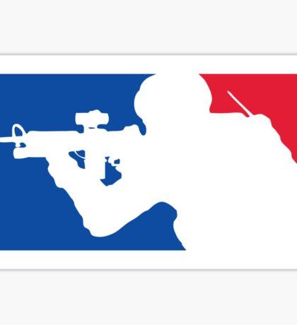 Major League Infantry Sticker
