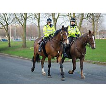 Mounted Law Enforcement Photographic Print