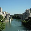 The Old Bridge of Mostar by Michele Filoscia