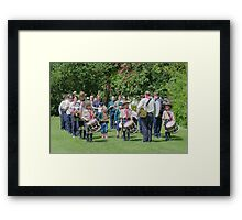 Community Band Framed Print