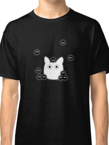 Mini Totoro and Soot Sprites Classic T-Shirt