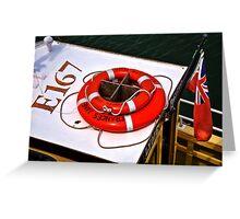 Frances Jane ~ Lyme Regis Greeting Card
