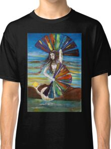 Rainbow Goddess after the Rain Classic T-Shirt